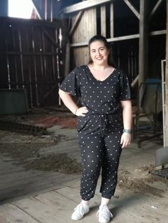 LuLaRoe Xoe | The Xoe (pronounced Zo-e), has finally hit my shop! The Xoe is a jumpsuit or romper. It features a v-neckline, flutter sleeves, a drawstring waist, and hidden pockets on the side seams. The ones I received all are a very soft fabric, called MVS. This fabric feels like the t-shirt your significant other has had for years. The Xoe is $52 and comes in sizes S-3X.