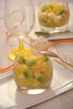 Salade de fruits d'hiver - Au Fil du Thym