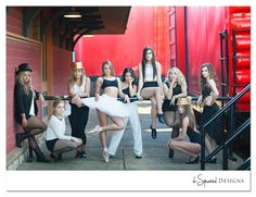 Dancers Group Portrait!  via Seniorologie.com (maybe for our dance team?)