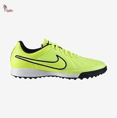 Nike Tiempo Genio Leather TF Fussballschuhe black-black-volt-white- 40,5