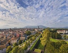Lucca's Walls :: The 500th annivarsary of Lucca's town walls
