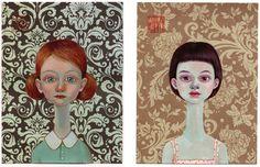 lena revenko   Tel Aviv based artist Lena Revenko is really good at painting ...