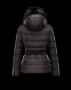 Onlineshop Moncler Damen FABREGES Anorak Schwarz Polyester sale