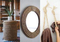 麻紐(ロープ)を使ったDIY!簡単でオシャレな実例集