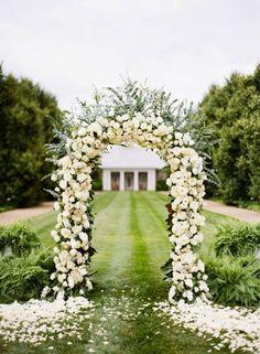 White Rose Altar