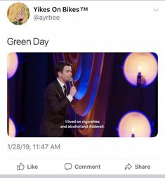 Pop Punk Bands Of The Hilariously Described With John Mulaney Quotes - So Funny Epic Fails Pictures Pop Punk Bands, Emo Bands, Music Bands, John Mulaney, Music Memes, Music Quotes, Music Humor, My Chemical Romance, Funny Fails