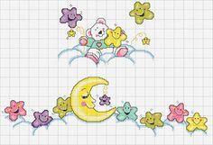 Bear, moon and stars                                                                                                                                                     Más