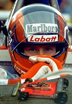 ( 2014 & 2015 IN MEMORY OF † ★ GILLES VILLENEUVE ) ★ † Joseph Gilles Henri Villeneuve - Wednesday, January 18, 1950 - St-Jean-sur-Richelieu, Quebec, Canada - Died; Saturday, May 08, 1982 - Leuven, Belgium. Cause of death; The Ferrari hit the back of Mass' car and was launched into the air at a speed estimated at 200–225 km/h (120–140 mph).