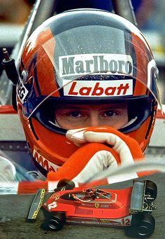 Gilles Villeneuve - 18 Janvier 1950 - St-Jean-sur-Richelieu, Quebec, Canada - 08 Mai 1982, Leuven, Belgium.