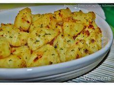 Veganana: Batatas ao Forno com Paprica Defumada