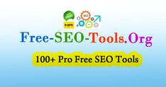 Free-Seo-Tools.Org is a super fast & best free seo tool. Improve website Google Ranking with the help of free SEO tools XML Sitemap Generator, Plagiarism Checker, Article Rewriter & more.