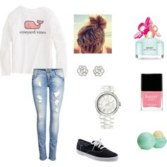 lazy day school outfit