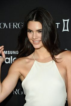 Kendall Jenner wears a slightly-too-sheer dress at New York Fashion Week