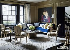 Taking the plunge on a strong hue can be intimidating, but the best way is to…
