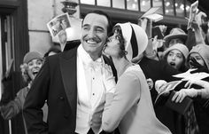 Berenice Bejo and Jean Dujardin star in The Artist. The film won Best Picture. Jean Dujardin, Romantic Movies, Most Romantic, Oscar 2012, The Artist Movie, Artist Film, Theater, Bon Film, I Love Cinema