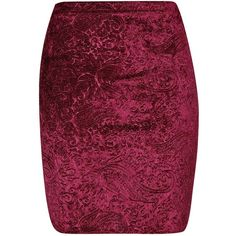 Boohoo Polly Flocked Velvet Mini Skirt and other apparel, accessories and trends. Browse and shop 3 related looks.