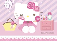 Sanrio, Cute Cats, Hello Kitty, Anime, Wallpaper, Beer, Painting, Friends, Xmas