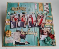 Lo of my granddaughter Hanna Children, Frame, Layouts, Scrapbooking, Handmade, Journal, Home Decor, Toddlers, Hand Made