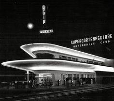 Milano | Zona Cagnola – La stazione di benzina più bella di Milano avrà nuova vita | Urbanfile Blog