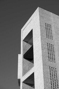 P77-79 — Reiulf Ramstad Arkitekter Urban Village, Urban Intervention, Residential Complex, Common Area, Oslo, Norway, Skyscraper, Brick, The Neighbourhood