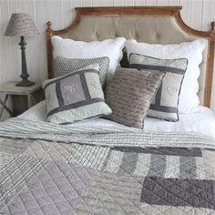 BIGGIE BEST Patchwork 250x260cm Quilted Bedspread, Grey Quilted Bedspreads, Bed Covers, Discount Designer, Bed Spreads, Kids Bedroom, Branding Design, Bedrooms, Home And Garden, Crafting