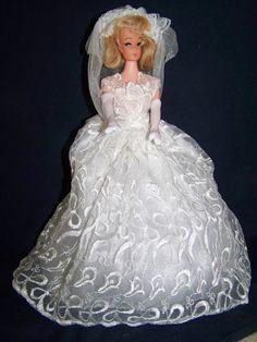 Vintage Blonde Ponytail Barbie Clone Bride Doll Unmarked | eBay