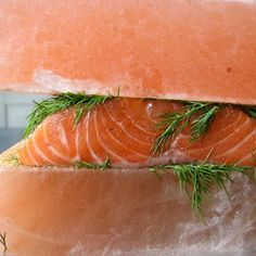 Salt Block Cured Gravlax Recipe from Salt Block Cooking by Mark Bitterman Ingredients Gravlax Recipe, Salt Block Cooking, Curing Salt, Coconut Fish, Cooking With Ground Beef, How To Cook Corn, Cooking Spaghetti, Spaghetti Squash, Cooking Turkey