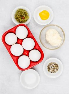 These classic, best ever deviled eggs are a must serve every holiday or cookout. Plus, an easy tip for perfect hard-boiled eggs every time! Best Deviled Egg Recipe Ever, Devilled Eggs Recipe Best, Best Deviled Eggs, Deviled Eggs Recipe, Sunday Recipes, Egg Recipes, Baby Food Recipes, Seafood Recipes, Brunch Recipes