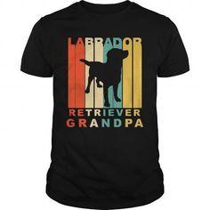 Labrador retriever grandpa T-Shirts & Hoodies
