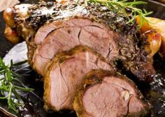 Roasted Pork or Lamb in the Springbok Style. So we've made things a little easier by presenting this authentic South African recipe with your choice of de-boned pork loin or leg of lamb as the centerpiece. The Chew Recipes, Lamb Recipes, Wine Recipes, Brisket, Bbq Roast, Lamb Dinner, Roast Lamb Leg, Meat Packing, Smoking Recipes