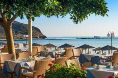 corissia park Hotels, Crete Greece, Places To Visit, Patio, Outdoor Decor, Modern, Home Decor, Viajes, Yard
