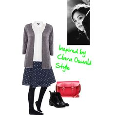 Inspired by Clara Oswald's Style by clararycbar, via Polyvore