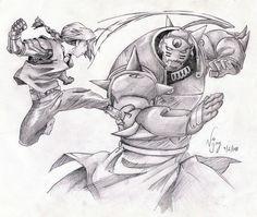 Fullmetal Alchemist Brothers by vjvarada.deviantart.com on @deviantART