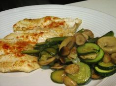 Spicy Tilapia With Mushrooms And Zucchini Recipe - Food.com