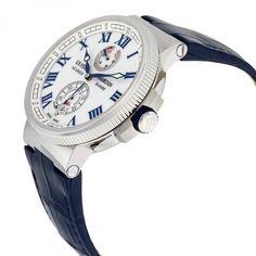 Ulysse Nardin Marine Chronometer White Dial Automatic Men's Watch 1183-126-40