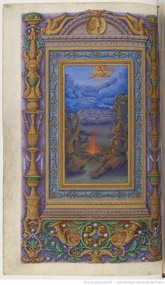 Heures à l'usage dominicain , dites Heures de Frédéric d'Aragon -- 1500-1505 -- manuscrits