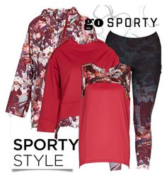 """Sporty Style in Sapopa"" by brunarosso-eshop on Polyvore featuring moda"
