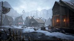 Brooke Olson talked about the modeling and texturing of her most recent navigable environment, inspired by Vikings.