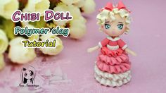 Chibi Doll ✿ Polymer clay Tutorial (fimo) ✿ Irina Ivanitskaya