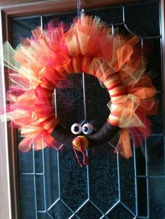 So cute!! Now I know without a doubt that I will have a wreath per season. To be seen on my door coming November 1st!