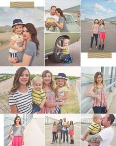 what to wear for family photo: good mix of stripes, florals  colors // Pied Piper Photography