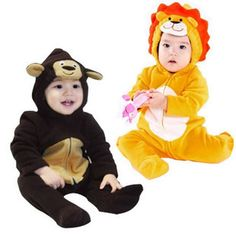 Lion style animal clothes romper baby bodysuit baby romper on AliExpress.com. $14.35
