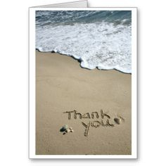 Thank you in the Sand Greeting Cards in each seller & make purchase online for cheap. Choose the best price and best promotion as you thing Secure Checkout you can trust Buy bestThis Deals          Thank you in the Sand Greeting Cards Review from Associated Store with this Deal...