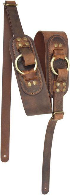 LM Products Odin Viking Series Leather Strap - Brown