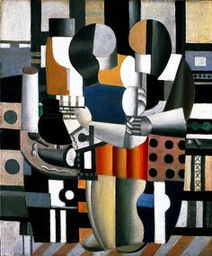 2013 EXPO Preview - Fernand Leger Les trois figures, 1921 Oil on canvas 25 5/8 x 21 1/4 in. 65.1 x 54 cm