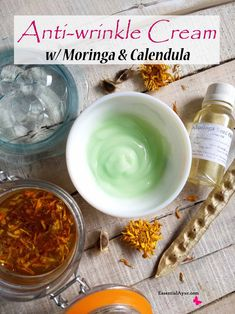 DIY anti-wrinkle cream with Moringa