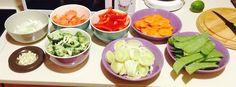 Treinos Culinários: Guisado de Legumes