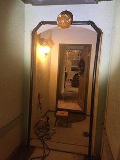 The first pumpkin goes up. Halloween Decorations, Wall Lights, Pumpkin, Lighting, Home Decor, Appliques, Pumpkins, Decoration Home, Room Decor
