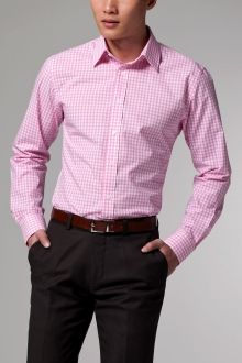The Pioneer Pink Gingham Shirt