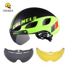 Colnels Велосипеды шлем 2017 Новый C-580 два Солнцезащитные очки для женщин велосипед шлем сверхлегкий Casco Ciclismo интегрального под давлением велосипедный шлем //Цена: $32 руб. & Бесплатная доставка //  #electronics #гаджеты